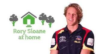 Video At home with The Crows: Rory Sloane shows us his home download MP3, 3GP, MP4, WEBM, AVI, FLV Oktober 2017