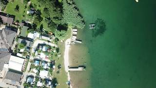 Lago Levico Camping Village like a bird!