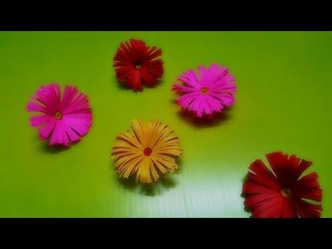 ดอกไม้ประดิษฐ์จากกระดาษ