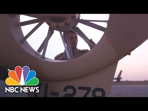 The Hunt For ISIS: In The Desert With Iraq's Fighter Pilots | NBC News