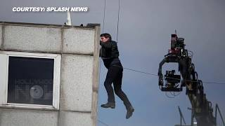 Tom Cruise Ankle Injury During 'Mission: Impossible - Fallout' Stunt   Tom Cruise MI 6 Stunt