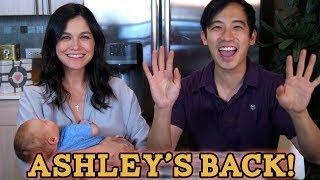 Ashley is back with a BABY! We answer your questions! thumbnail