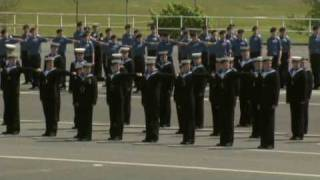 Royal Navy HMS Raleigh Cunningham Division Passing out Parade May 21st 2010 (Part 1)