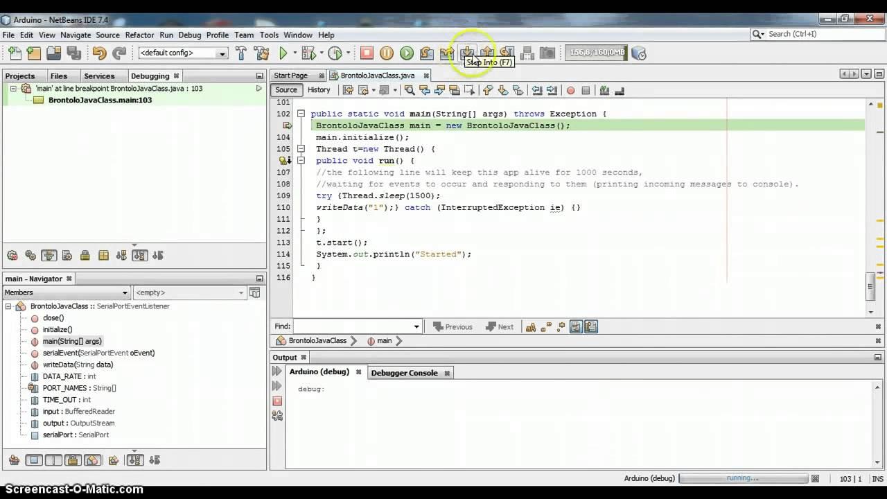 RXTX Arduino Java