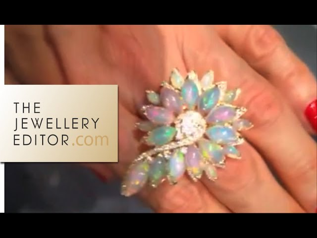 Stephen Webster jewellery: Magnipheasant opal ring