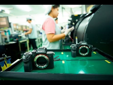 A Sony Factory Tour: How the Sony a7r II Gets Made