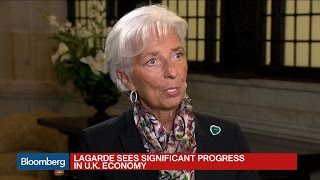 IMF's Lagarde: We Are All Facing Global Problems