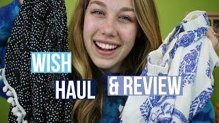 wish app haul review
