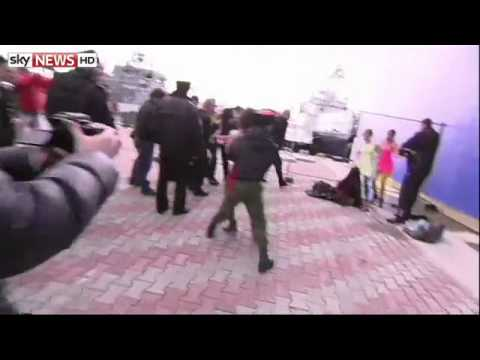 Pussy Riot Beaten With Horsewhips In Sochi