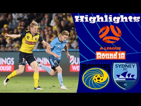 Central Coast Sydney Goals And Highlights