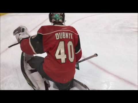 Minnesota Wild Warm ups (10.18.16) [60 FPS]
