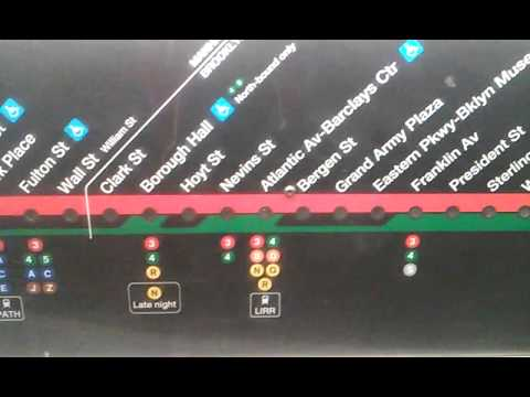 2 Train Map Exclusive: new 2 and 5 train strip map tour   YouTube