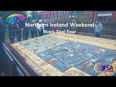 Northern Ireland Weekend - Black Taxi Tour