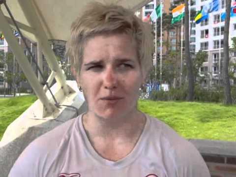 Anita Włodarczyk po eliminacjach w Daegu