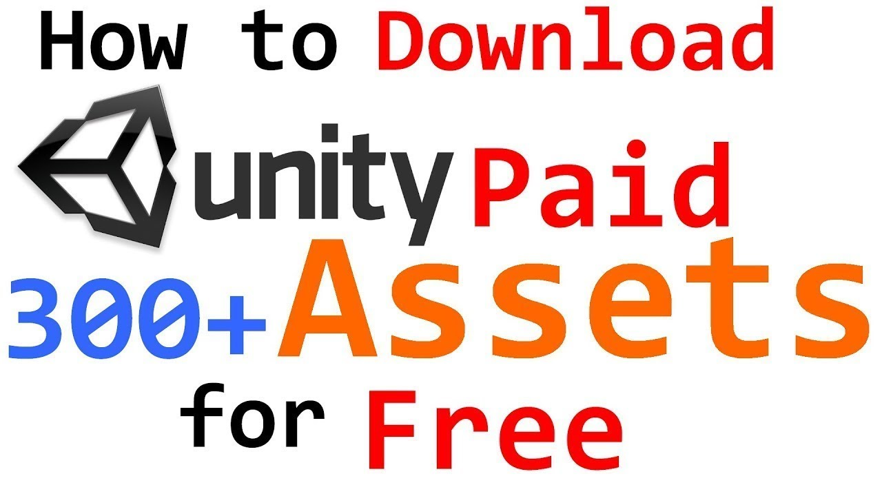 how to get paid unity and unreal assets for 100% free
