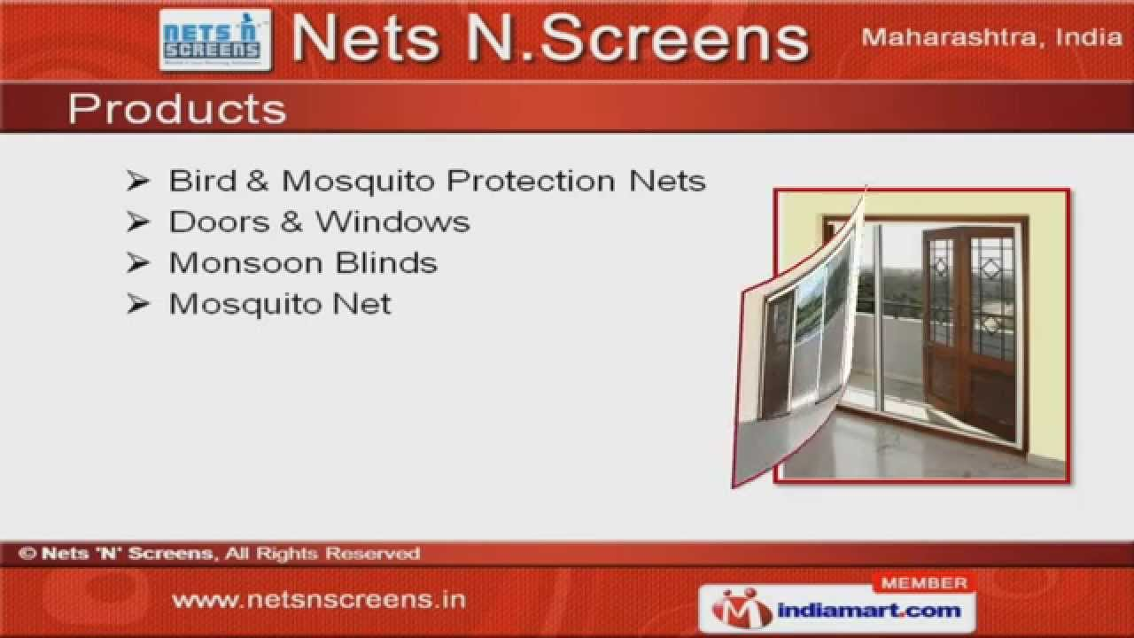 sc 1 st  YouTube & Bird u0026 Mosquito Protection Net by Nets u0027Nu0027 Screens Mumbai - YouTube