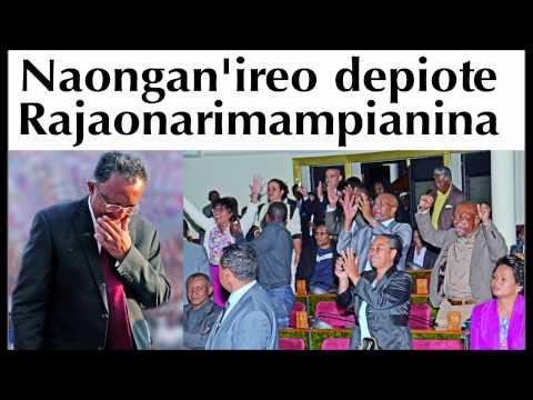 Naongan'ireo depiote ny filoha Hery Rajaonarimampianina