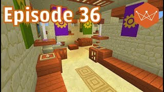 Designing a desert model home Minecraft world of Hex E36