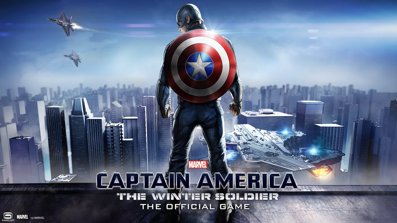 "لعبه Captain America TWS v1.0.3a ""جيم لوفت"" مهكره جاهزه"