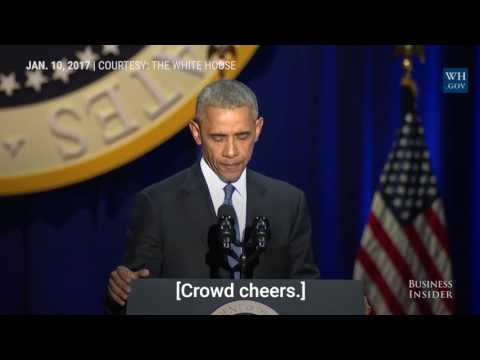 Watch President Obama tear up while...