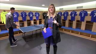 FNL: Hazard  and Courtois join Chelsea TV live in the studio