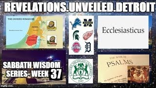 Sabbath WISDOM Series Week-37. A Wisdom Celebration! #IADOS