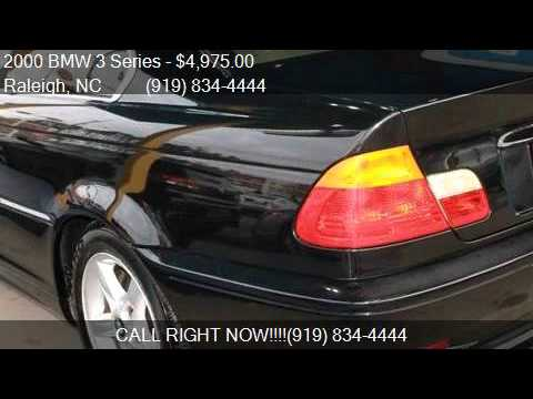 2000 bmw 3 series 328ci for sale in raleigh nc 27609 at nor youtube. Black Bedroom Furniture Sets. Home Design Ideas