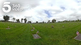 Watch Over 200,000 Flags Placed at Riverside National Cemetery in 360
