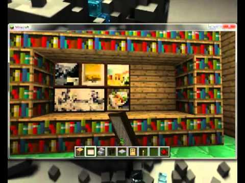 Minecraft como decorar tu habitacion youtube for Disenar tu habitacion online gratis