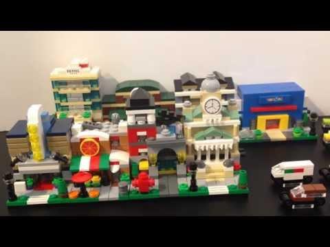 Collect-a-Thon! LEGO Bricktober Mini Modulars, 2014-2015!