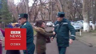 Ўзбекистон: Президент Қабулхонаси олдидаги жанжалга ким сабабчи?- BBC Uzbek