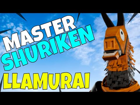 shuriken-master!-legendary-llamurai-gameplay---fortnite-save-the-world