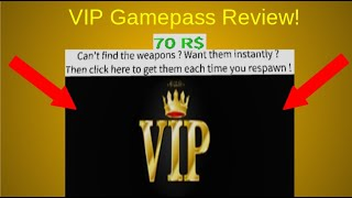VIP Gamepass Review! Roblox sobreviver e matar os assassinos na área 51!