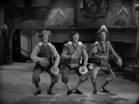 The Ritz Brothers-Three Musketeers-Making Noise