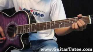 Nick Jonas and The Administration - Who I Am, by www.GuitarTutee.com