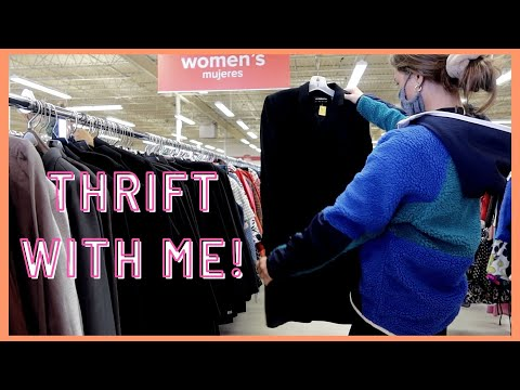COME THRIFT WITH ME! | Salvation Army Thrift Store and Try-On