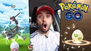 VUELVE LA SUERTE DE LA EMBARAZADA SHINY! NUEVO SHINY DE HUEVO! [Pokémon GO-davidpetit]