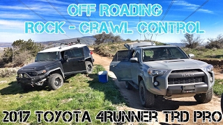 (Part11) 2017 4Runner TRD PRO Cement. Off Roading. Rock Crawl Control.