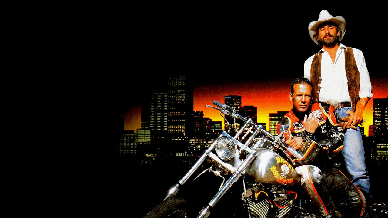 Harley Davidson And The Marlboro Man(1991) | Movie Review ...