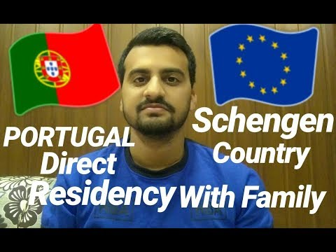Portugal Direct Residency with Family Program Green Visa Schengen Country