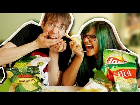 Chips (Sour Cream & Onion) | Blindsmagning