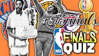 Nba finals history quiz!