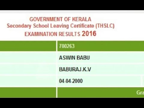 Different results in different website : Mismanagement in SSLC results
