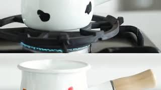 9종 밀크팟 밀크팬 우유냄비 에나멜 미니 밀크저그