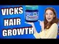 Can VICKS VAPORUB make your HAIR GROW ?????