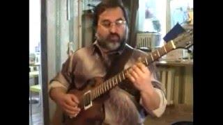 Импровизация на гитаре! уроки ч1(3)