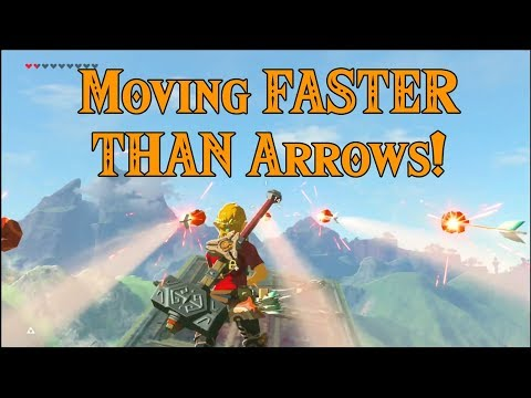 Moving FASTER THAN Arrows! Flying Carpet in Zelda Breath of the Wild
