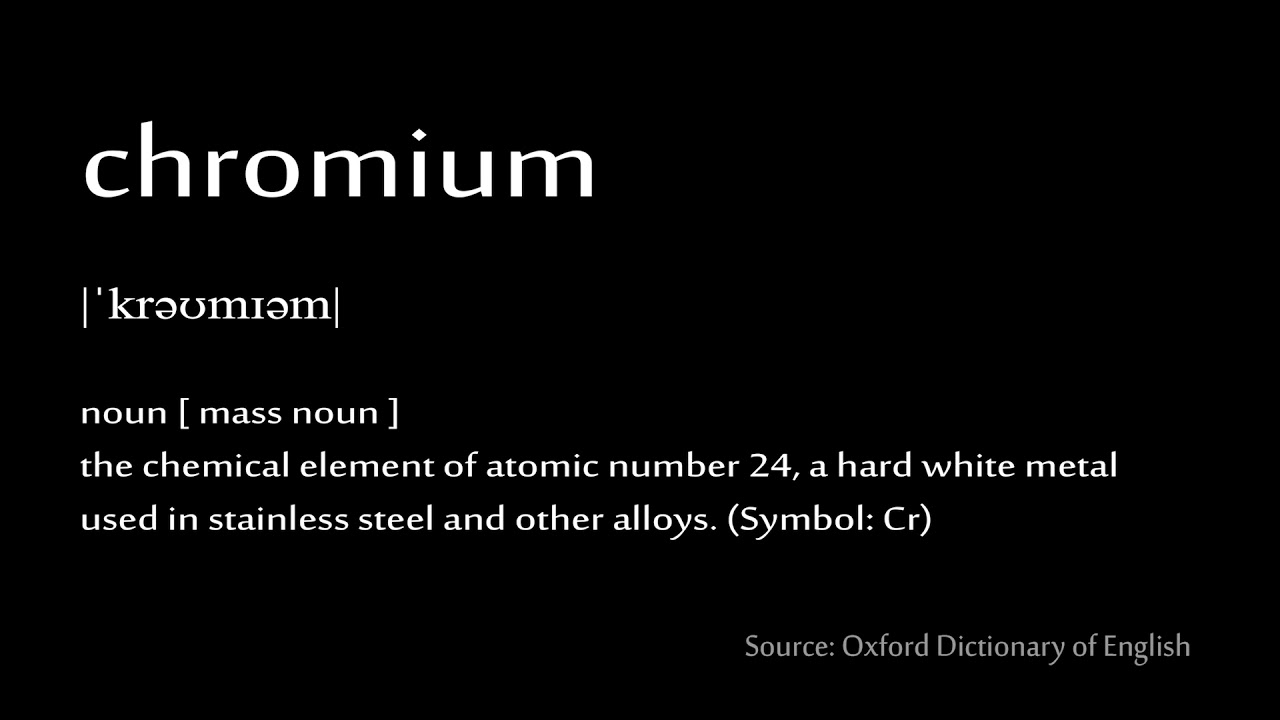 24 chromium how to pronounce chemical elements periodic table 24 chromium how to pronounce chemical elements periodic table urtaz Gallery