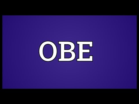 OBE Meaning