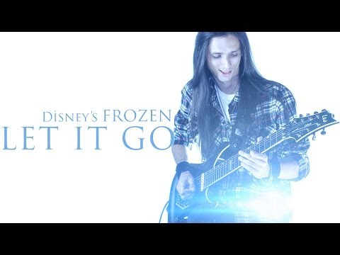★ Let It Go- Disney's Frozen - Rock Version [Guitar]